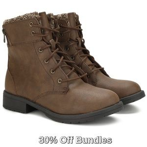 Other - 3/$30 - Girls' Lace Up Boots, Brown